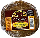 Okay African Black Jelly Soap, 6 Ounce