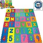 Puzzle tapis mousse b�b� alphabet et...