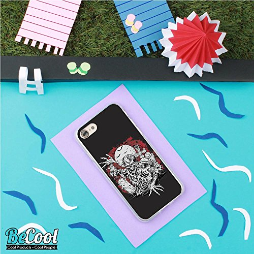 BeCool®- Coque Etui Housse en GEL Flex Silicone TPU Iphone 8, Carcasse TPU fabriquée avec la meilleure Silicone, protège et s'adapte a la perfection a ton Smartphone et avec notre design exclusif. Exp L1529