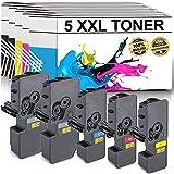 LABT Premium 5er Set Toner TK-5240 ALS Ersatz für Kyocera Ecosys M5526cdn, M5526cdw, P5026cdn, P5026cdw - mit Füllstandsanzeige