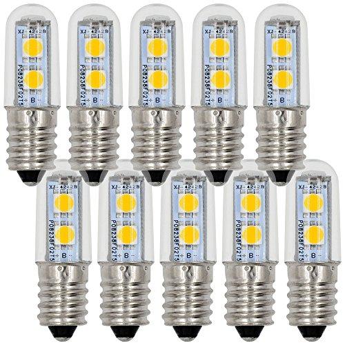 10X MENGS® E14 LED Lampe 1W 2W 3W 4W 5W Warmweiß 3000K SMD