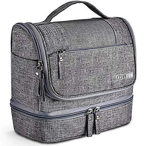 Hilareco Neceser de Viaje bolsa de aseo colgante de 7 litros impermeab