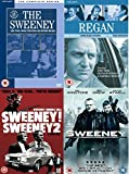 The Sweeney Complete ITV TV Series + Movies DVD Collection [18 Discs] Box Set [All 53 Episodes] Season 1, 2, 3, 4 + Extras + Re