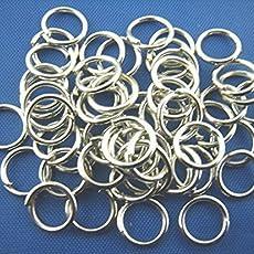 2.0mm 10 St/ück Glas Perlen Rund schwarz gestreift Transparent 8mm D Loch