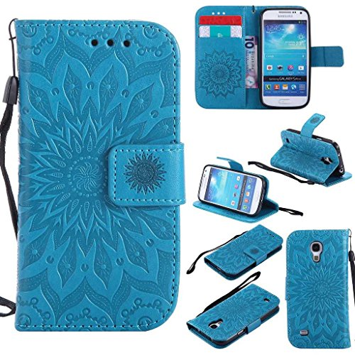 galaxy-s4-mini-case-kkeikor-galaxy-s4-mini-flip-leather-case-with-free-tempered-glass-screen-protect