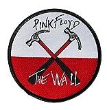 Pink Floyd–Parche de The Wall HammersdePink Floyd, tejido y con licencia oficial