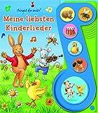 Meine Liebsten Kinderlieder - Liederbuch mit Sound - Pappbilderbuch mit 6 Melodien