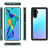 Redpepper 360 Full Protection Waterproof Shockproof Protection Phone Case For Huawei P30 Pro Diving Swimming aquatics Transpa
