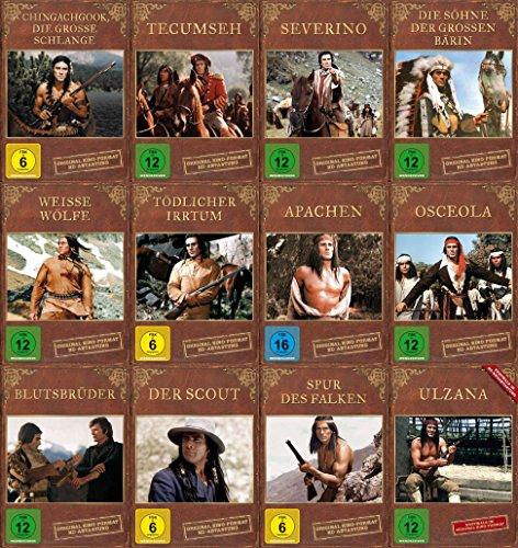 GOJKO MITIC Western & Indianerfilme DEFA COLLECTION 12 DVD Edition