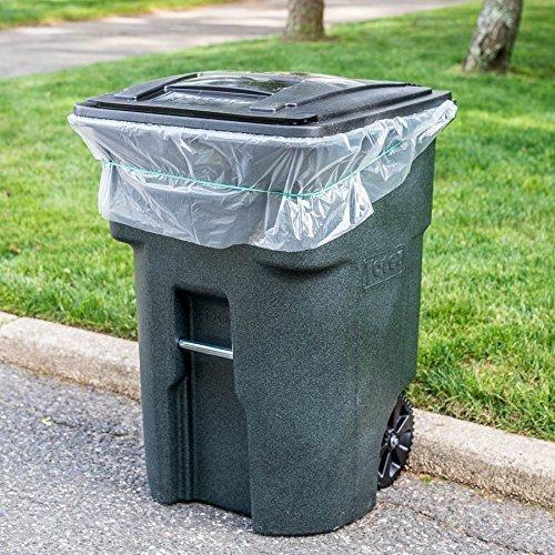 65Liter Trash Taschen für Toter (Groß Mülleimer Schritt Küche)