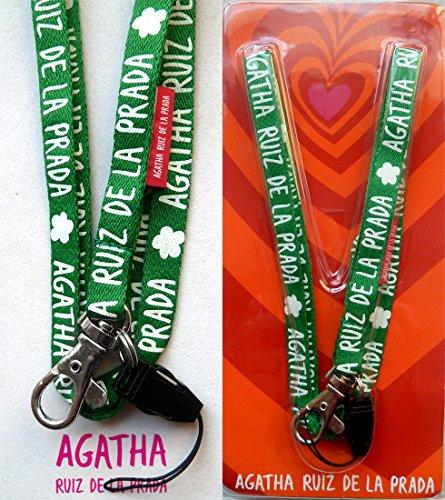 neck-strap-estrecho-verde-logo-agatha-ruiz-de-la-prada