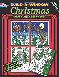 Build a Window Stained Glass Coloring Book--Christmas (Build Window Stained Glass Coloring Book) by Marty Noble (2011-08-18)