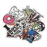 StillCool® shifashionshop Aufkleber für Skateboard Snowboard-Weinlese-Vinylaufkleber-Graffiti Laptop Gepäck Auto-Fahrrad-Decals mischen Lot Art- und Weisekühler