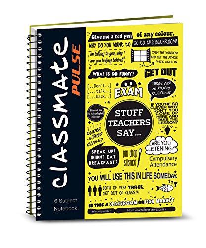 Classmate Pulse 6 Spiral Notebook