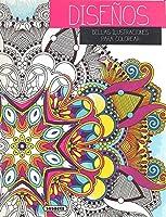 Este cuaderno recoge las obras de diversos artistas: 48 láminas de gran tamaño y microperforadas para cortarlas con facilidad. Diseños geométricos, naturales o abstractos, que se inspiran en el arte persa, los mandalas o el Art Nouveau.