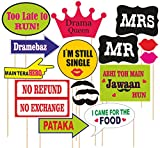 #2: SYGA party props set of 16 Marriage or party theme paper craft item