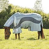 Horseware Amigo Evolution Fliegendecke Ekzemerdecke Silver/ Dark Grey (125)