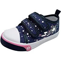 Girls Canvas Pumps Infant Trainers Shoes Child Size 4 5 6 7 8 9 10 11 12 Mary Jane Low Top Plimsole Summer