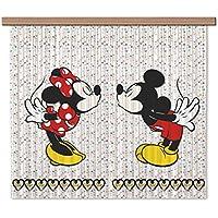 AG Diseño fcsxl 4371Disney Mickey Mouse,/cortinas, 180x 160cm–2piezas: 90x 160cm, plástico, multicolor, 0,1x 180x 160cm