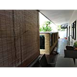 TCLPVC 3/7 Feet Bamboo Chick Window Closer/Curtains For Balcony, Windows, Outdoors, Door, Kitchen, Divider Room US - 1001