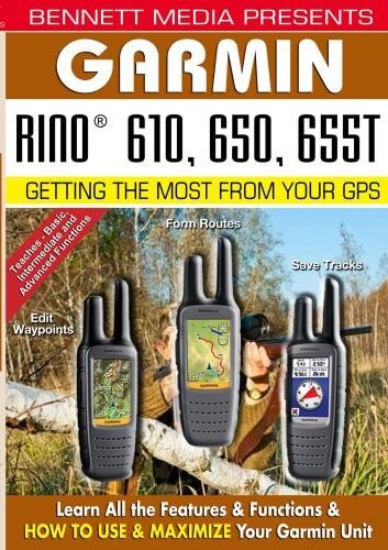 Garmin Rino 610, 650, 655T Garmin Video-training, Gps