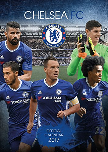 Chelsea Official 2017 Calendar - Football A3 Wall Calendar 2017 Test
