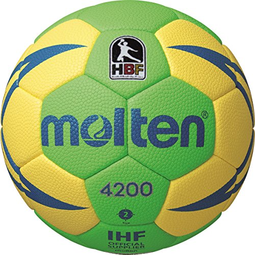 molten Handball, Grün/Gelb/Blau, 3, H3X4200-GY-HBL