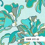 MUESTRA de papel pintado EDEM serie 072 | papel vinílico de diseño floral, 072-XX:S-072-22