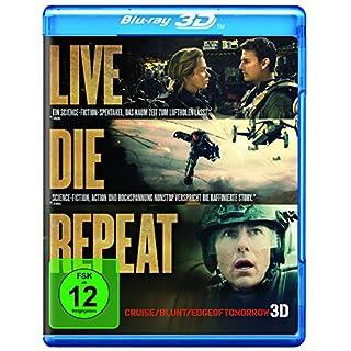Live Die Repeat: Edge Of Tomorrow [3D Blu-ray]