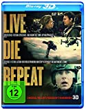 Live Die Repeat: Edge Of Tomorrow [3D Blu-ray]