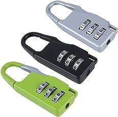 LUKZER Multicolor Luggage Lock