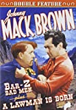 Johnny Mack Brown Double Feature: Bar-Z Bad Men (1937) / A Lawman Is Born (1937) (DVD) (1937) (All Regions) (NTSC) (US Import)