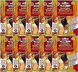 10er Pack Wärmekissen selbstklebende Wärmepflaster Schmerzpflaster Wärmepads Rückenwärmer 13x9