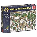 Jan Van Haasteren - Weihnachtsbaummarkt - 2000 Teile Puzzle