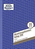 Avery Zweckform 745 Bewirtungskostenbeleg Blau