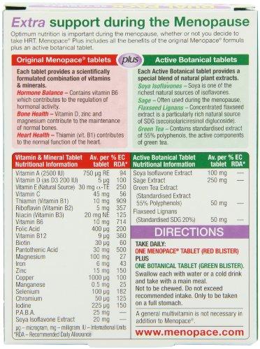 Menopace Vitabiotics Plus – 56 Tablets