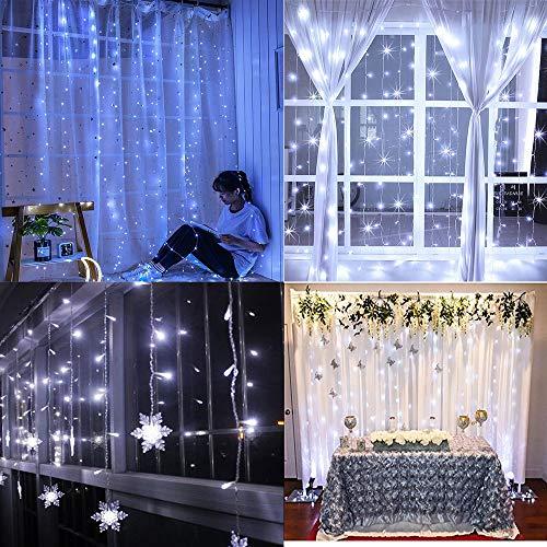 LED LED Lichterkettenvorhang,