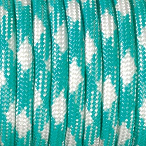 Paracord 4 x 50 mm Multicolore/Bleu océan