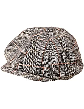 JUNGEN Unisex sombrero encapuchado estilo Inglaterra sombrero baya sunscreen de ocio para el exterior o viajar...