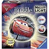 Ravensburger Italy 11820 - Puzzle 3D Lampada Notturna Cars