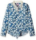 Barbie Girls' Shirt (SHAFA150648004_Blue...