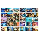 Schöne Reise-Landschaft 30PCS Künstlerische Retro Postkarten-Venedig