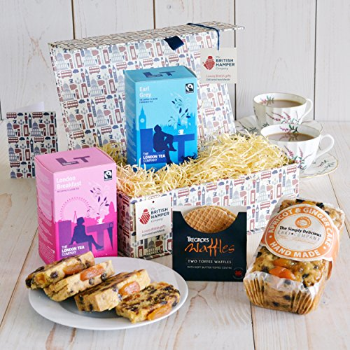 Afternoon Tea For Two Gift - Free Express UK Delivery - Gift Card Included