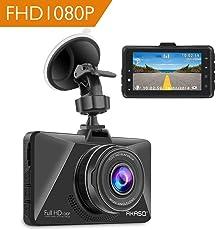 AKASO Full HD 1080P Dashcam Autokamera mit 3 Zoll LCD Bildshirm 170 Weitwinkelobjektiv Nachtsicht Dash Cam mit G-Sensor, Bewegungserkennung,Parkmonitor, WDR, Loop-Aufnahme