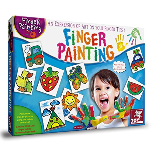 ToyKraft Finger Painting Kit