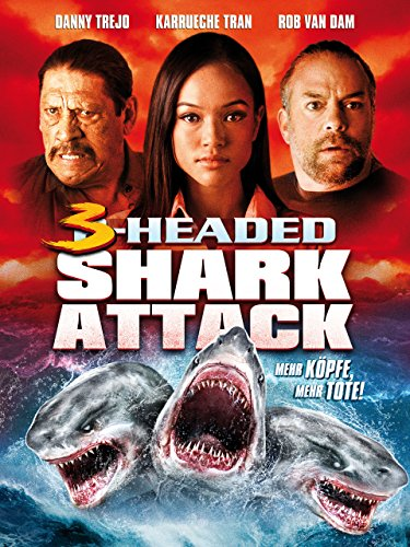 3-Headed Shark Attack Cover