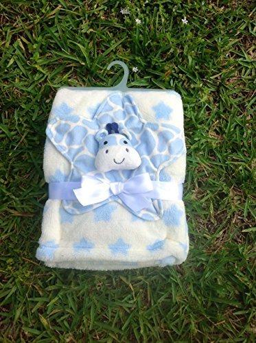 Giraffe Lovie & Plüsch Decke Set blau
