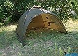 DD-Tackle Ruck Zuck 2 Mann Karpfenzelt 250 x 250cm x 160cm Shelter