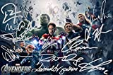 Signed PP = Pre-Printed autograph(s) by RDJ, Stan Lee, Paul Bettany, Mark Ruffalo, Elizabeth Olsen, Scarlett Johansson, Samuel L Jackson, Chris Hemsworth, Chris Evans, Anthony Mackie, Jeremy Renner, Don Cheadle