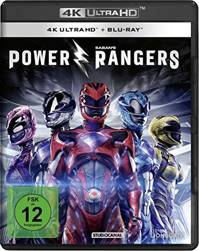Power Rangers - Ultra HD Blu-ray [4k + Blu-ray Disc]